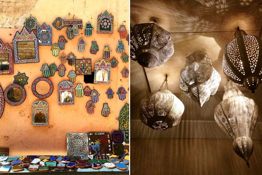 marokietiski meno dirbiniai, meniski sviestuvai