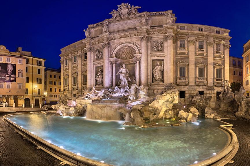 Trevi fontanas, Roma