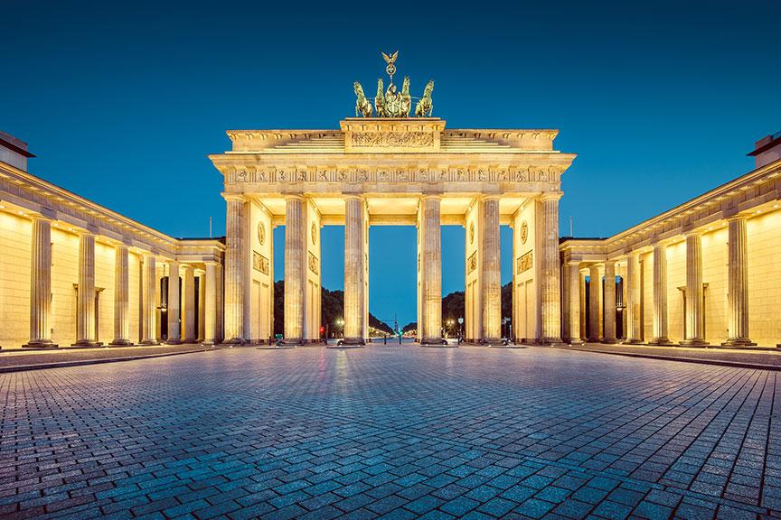 Brandenburgo vartai Berlynas