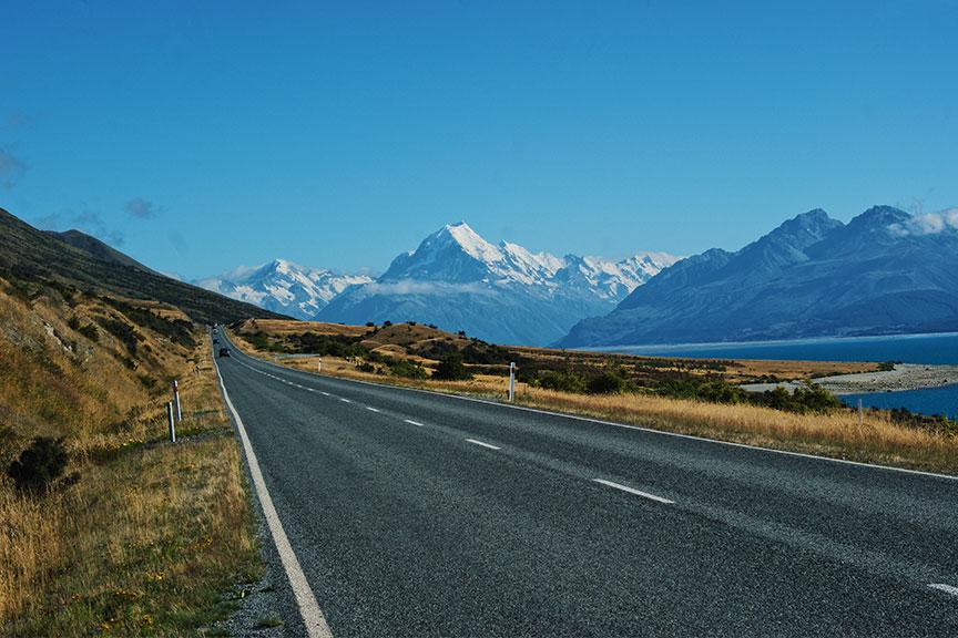 Mount Cook, Kuko kalnas
