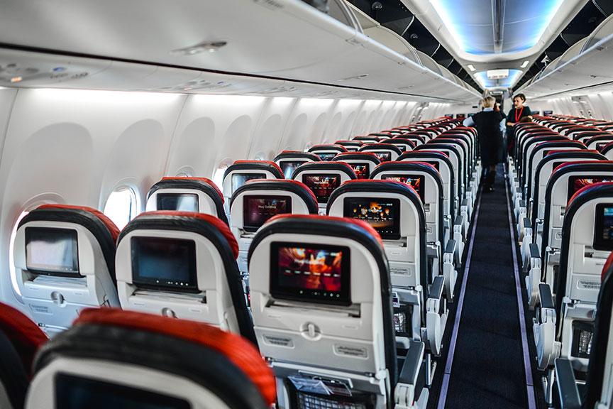 Modernus Turkish Airlines salonas
