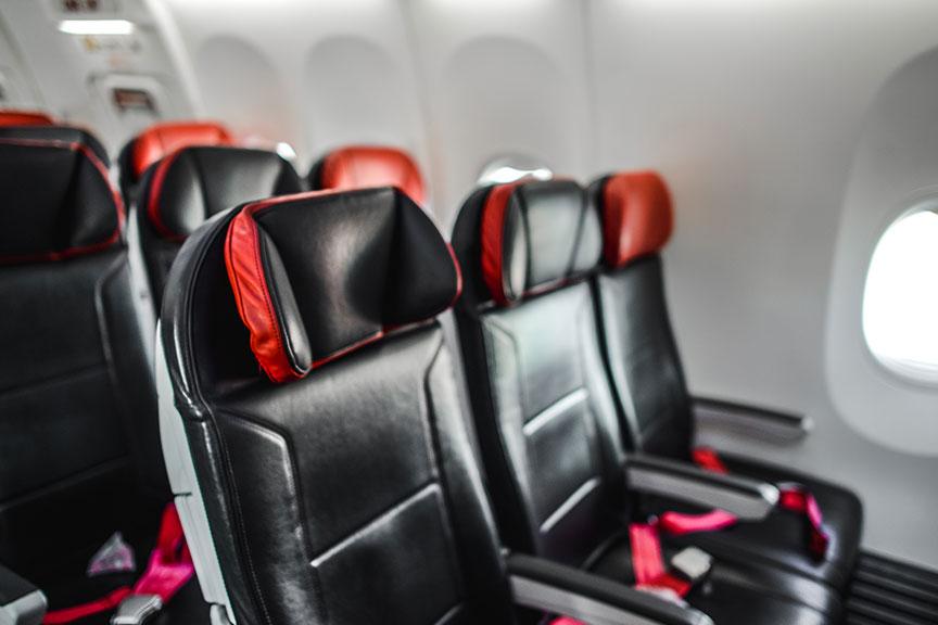 Turkish Airlines sėdimosios vietos
