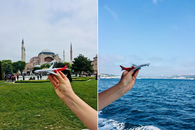 Į Stambulą tiesiogiai su Turkish Airlines