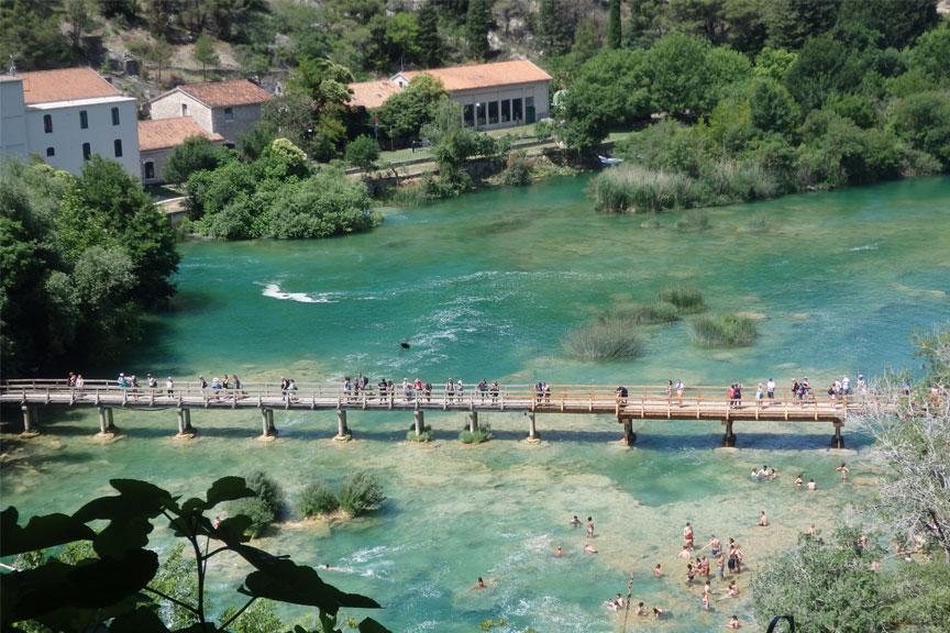 Krk nacionalinio parko pagrindinis tiltas