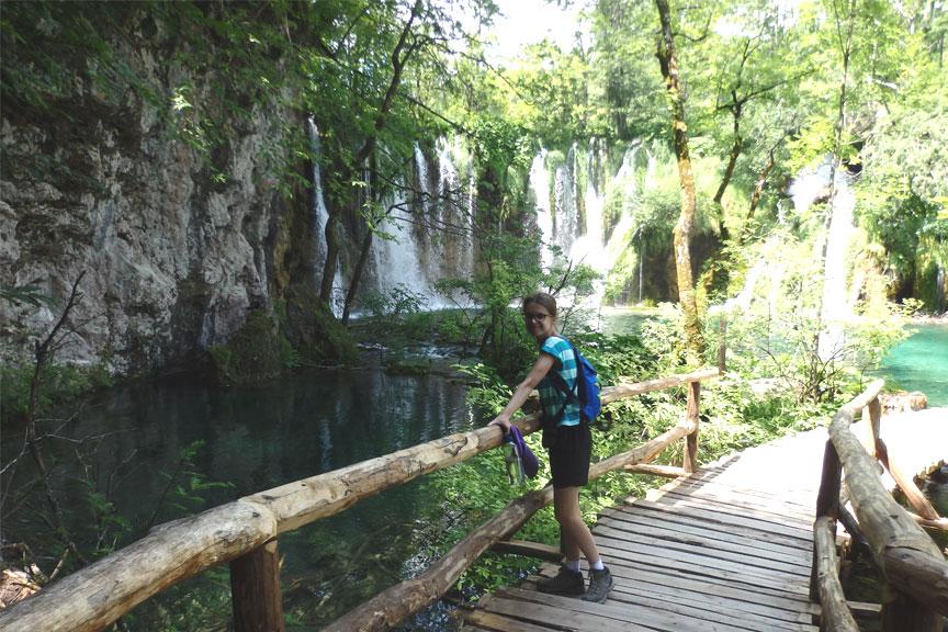 Plitvicos nacionaliniame parke
