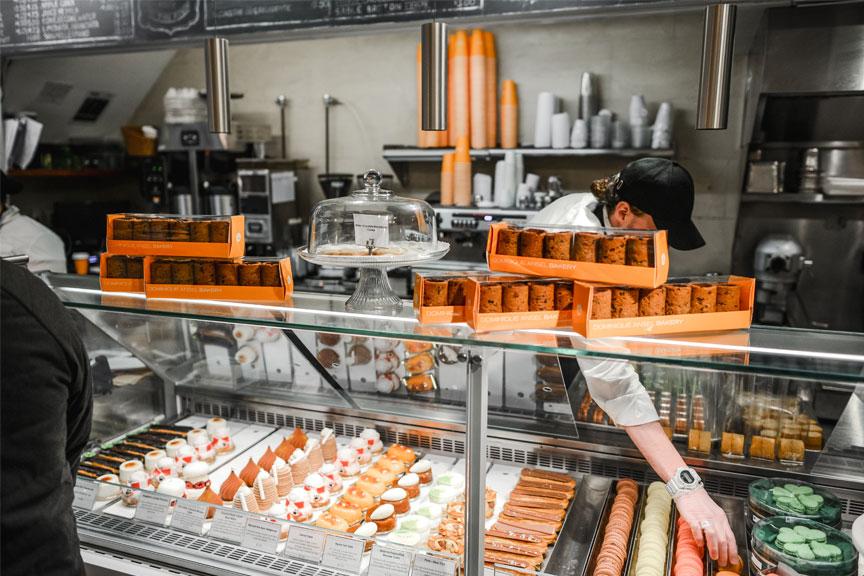 Dominique Ansel Bakery kavinėje Niujorke