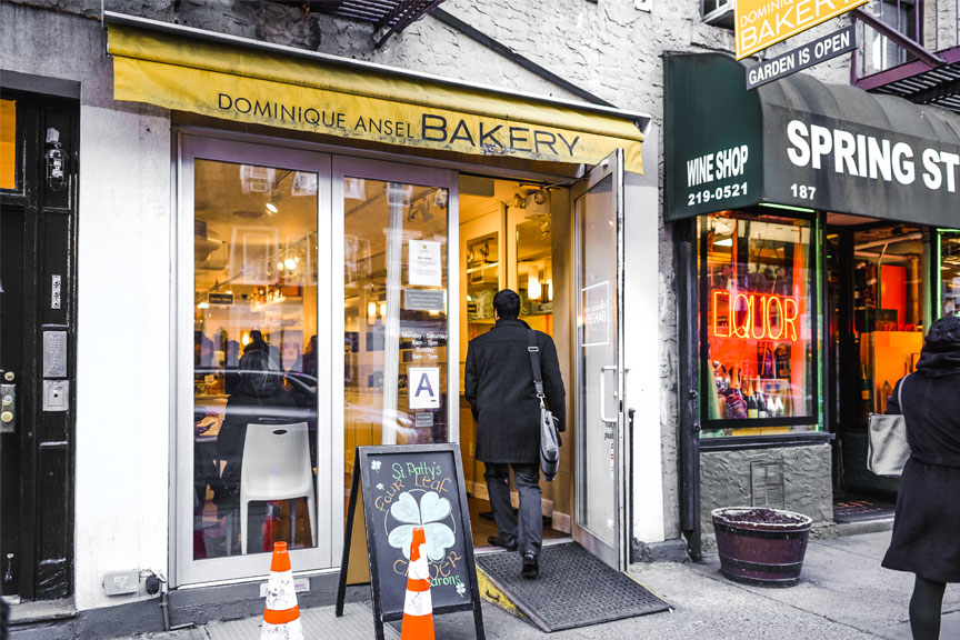 Dominique Ansel Bakery kavinė Niujrkas