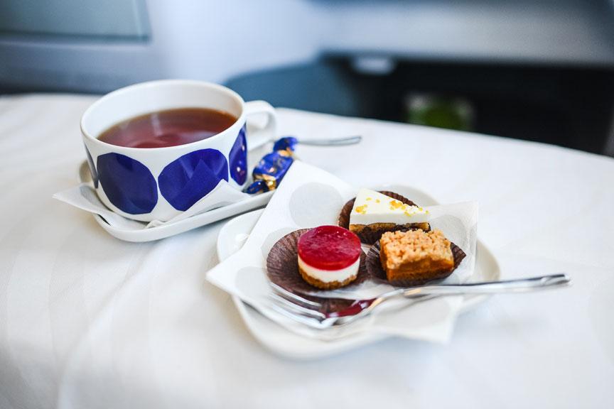 Desertas lėktuve, Finnair oro linijos