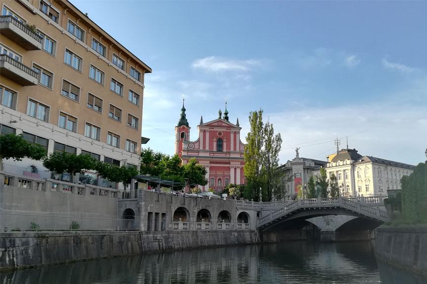 Slovėnijos sostinė Lubliana