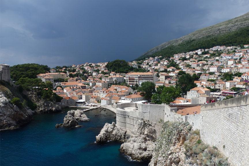Vaizdas Dubrovnike