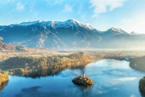 Bledo ežeras, Slovėnija