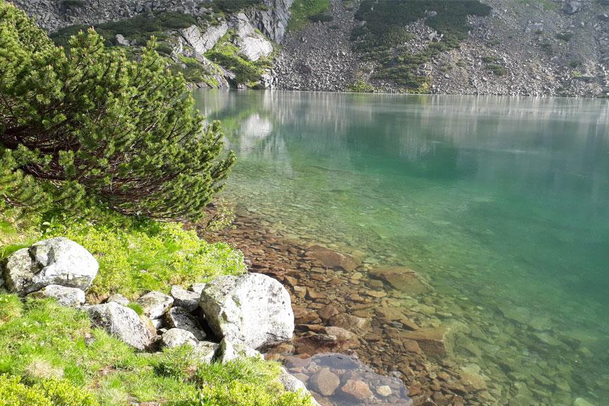 Tatrai, kalnų ežeras