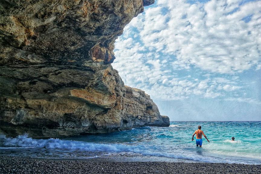 Skiathos sala, Graikija, paplūdimys