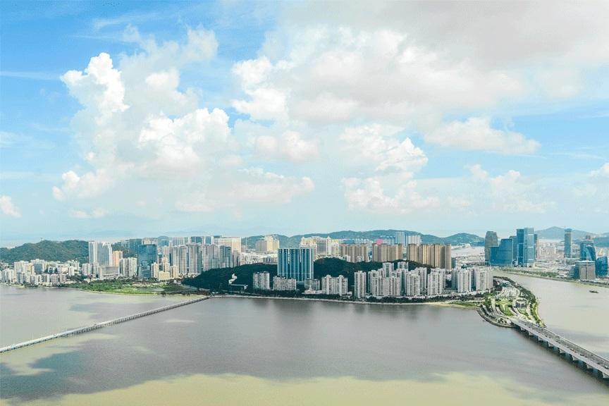 Panoraminis vaizdas, Makao, Kinija