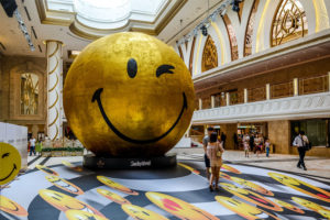 Šypsenėlės skulptūra, Makao, Kinija