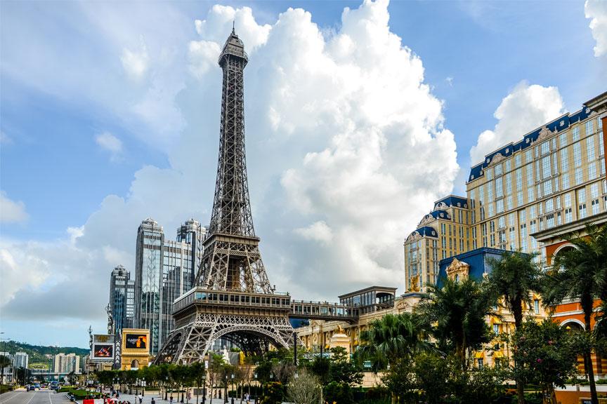 Eifelio bokšto kopija, Makao