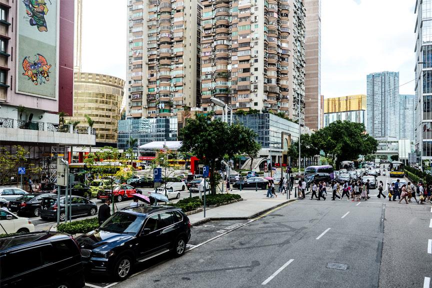 Makao gatvės, Kinija