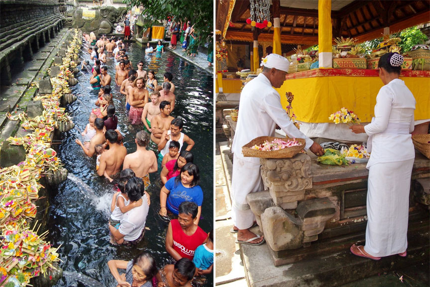 Vandens ritualai, Balis