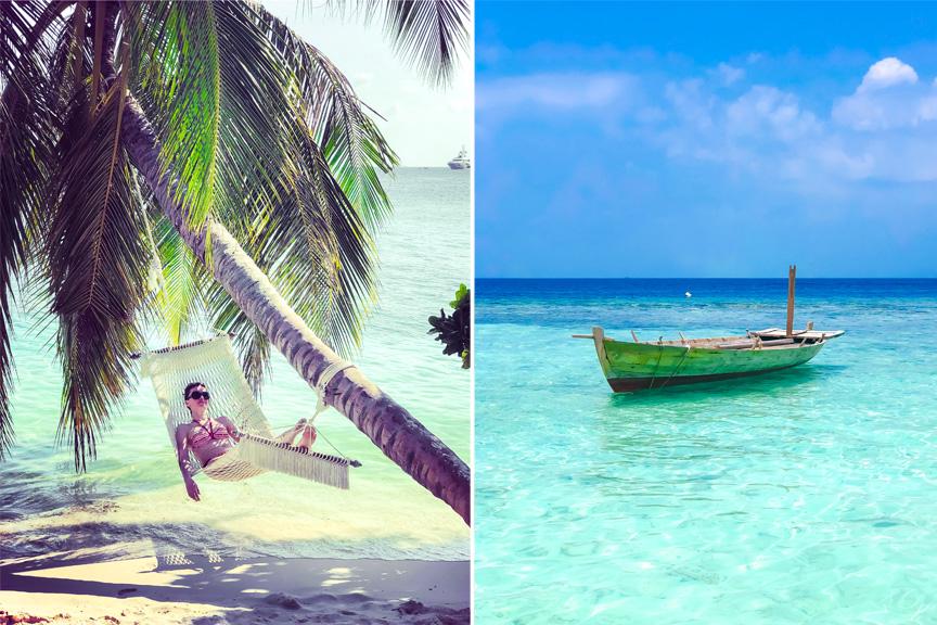 Rasa Levickaitė, Maldyvai